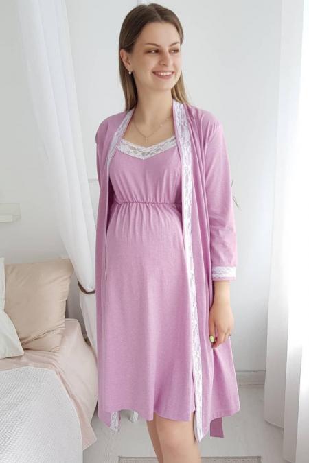 """Комплект для беременных и кормящих мам  """"Настюша"""" брусника"""
