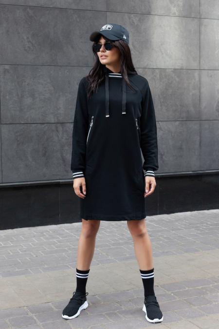 Платье-толстовка П-03
