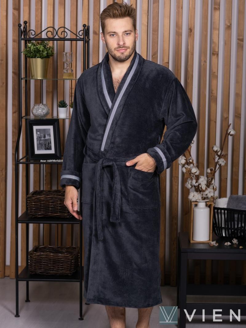 BARON (Антрацит) бамбуковый халат