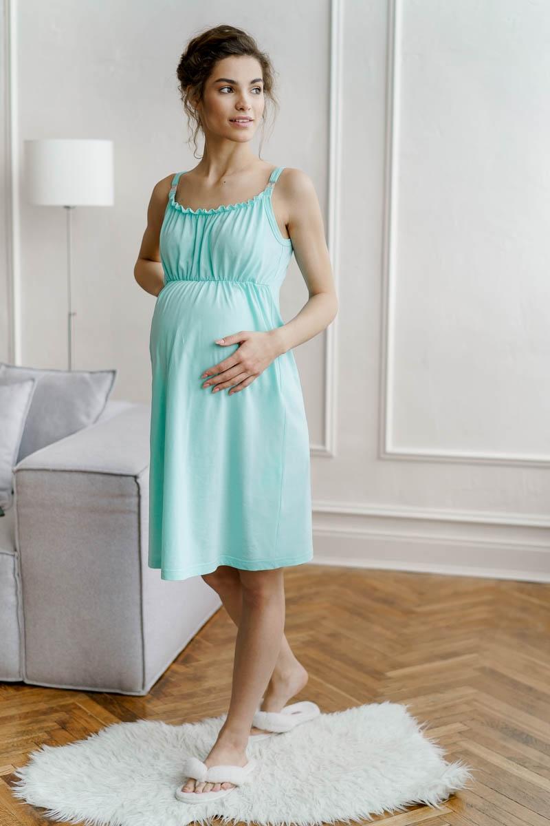 """Сорочка для беременных и кормящих """"Лора"""""""
