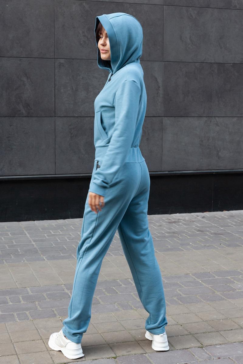 Комбинезон для девушки К-05 голубая дымка