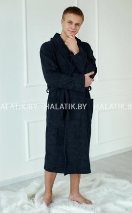 Банный халат ALEJANDRO чёрный