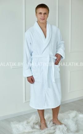 Мужской халат ALEJANDRO белый