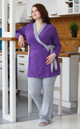 Комплект домашний женский фиолет