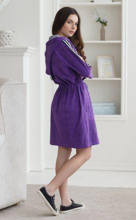 Халатик для девушки Клэр фиолет